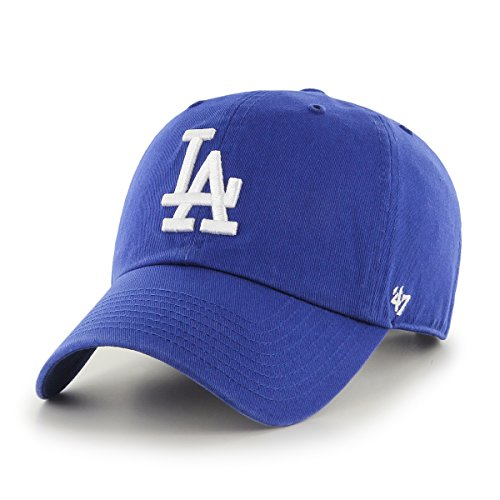 MLB Los Angeles Dodgers Clean Up Adjustable Cap, Blue -