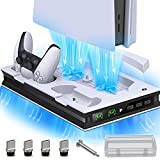 BEBONCOOL PS5 Stand with SuctionCooling Fan