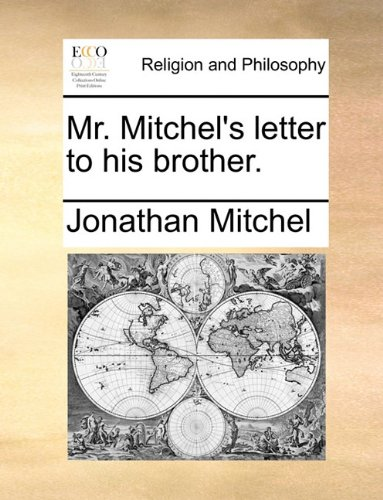 Mr. Mitchel's letter to his brother. pdf epub
