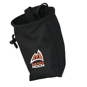 Al aire libre escalada Climb Rider magnesio Addict en polvo de color bolso de la bolsa con cintura cinturón, Black-050: Amazon.es: Deportes y aire libre