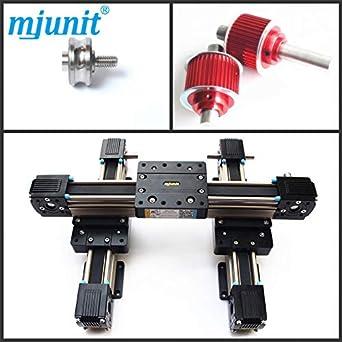 mjunit MJ45 850x950mm stroke length rail actuator belt drive linear
