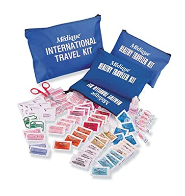 Medique 76301B Domestic Traveler First Aid Kit with Polybags from Medique Products