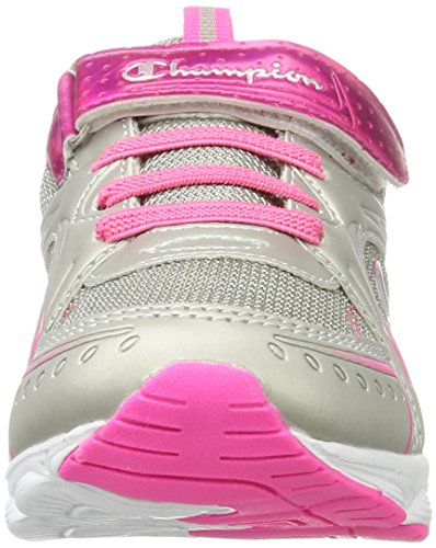 Champion Baby Mädchen Low Cut Shoe Lacie 2 G Ps Sneaker Mehrfarbig (Silm/Pink)