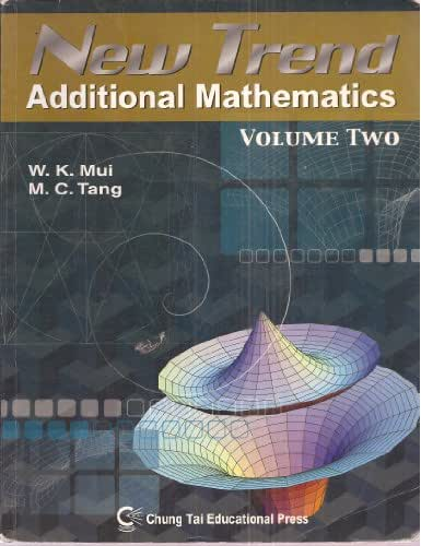 New Trend Additional Mathematics, Vol. 2