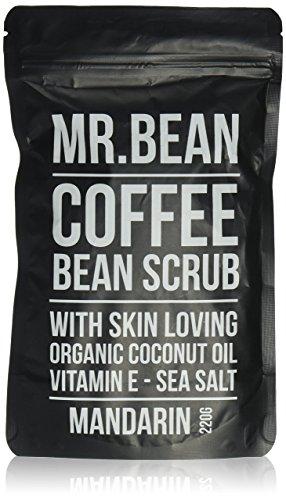 MRBEANBODY Coffee Bean Scrub, Mandarin, 220 Gram ()