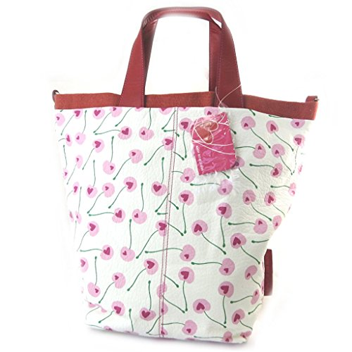 ('french touch' bag 'Agatha Ruiz De La Prada'pink white - love cherries.)