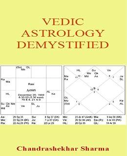 vedic astrology demystified kindle edition by chandrashekhar