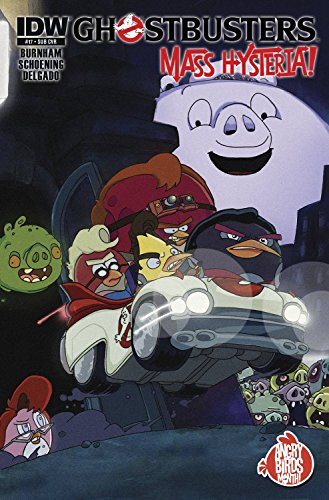 Ghostbusters #17 SUBSCRIPTION VAR ANGRY BIRDS -