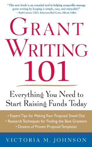 Amazon grant writing 101 everything you need to start raising look inside this book grant writing 101 everything you need to start raising funds today by johnson fandeluxe Images