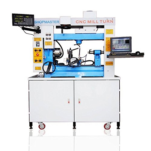 Shopmaster Mill Turn Cnc Lathe -mill Combo