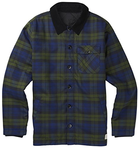 Burton ATF Daily Driver Jacket - Men's Deflate Gate Union Plaid Small