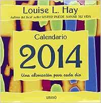 2014 Calendario Taco Louise L. Hay Productos especiales