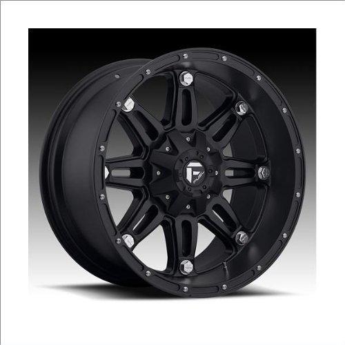 Fuel Hostage Matte Black Wheel (20x9'')