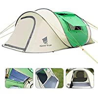 Geertop Pop Up Tent Family Camping Tent for 3 4 5 Persons...