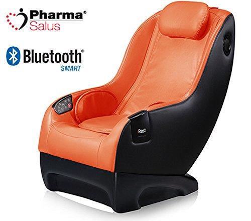 PharmaSalus Sillón Masaje con Sisema 3D A150 Color Naranja ...