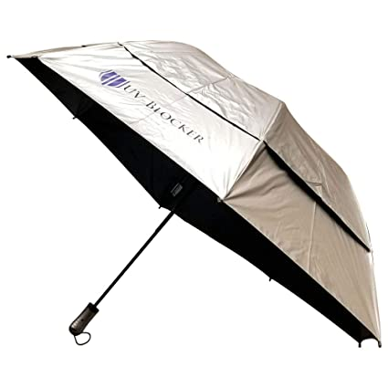 Amazon.com: uv-blocker grande plegable paraguas UV: Sports ...