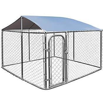 Amazon Com Giantex 7 5 X7 5 Large Pet Dog Run House