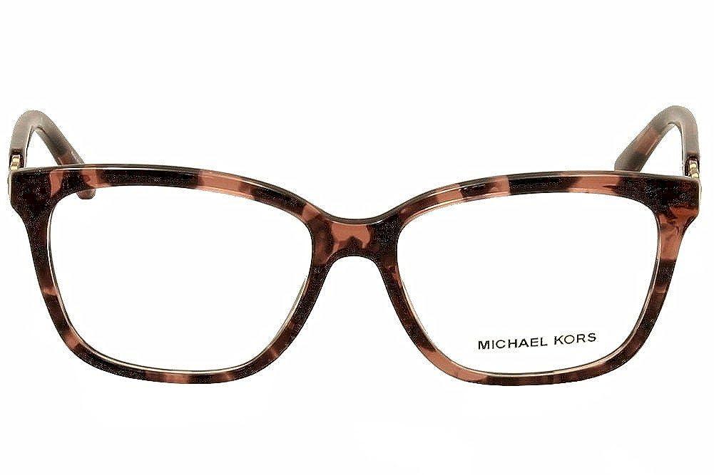 c34abde2ce2 MICHAEL KORS MK 8018 Eyeglasses 3108 Pink Tortoise Rose Gold 54-15-135   Amazon.co.uk  Clothing