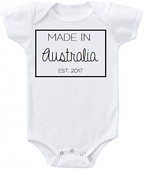 Part Australian All Trouble Onesie Baby Clothing Gift Funny Cute Toddler Aussie