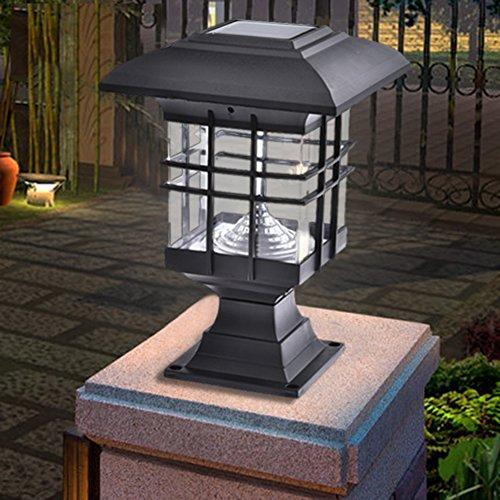 Aneil Outdoor Solar Post Cap Lights 30 Lumens, Waterproof Pillar Lamp For  Walkway, Garden, Patio, ...