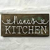 Personalized Custom Name Kitchen Rustic Wooden Sign 12″X6″