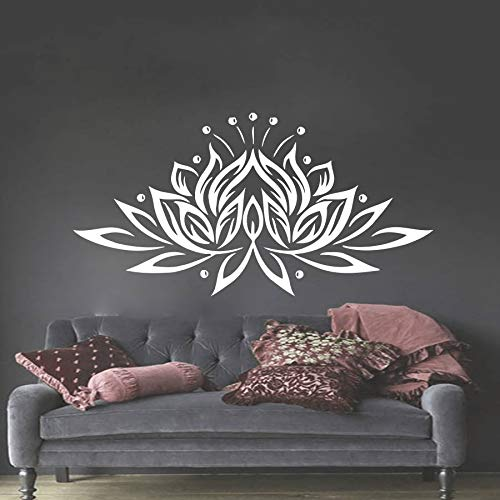 BailongXiao Adhesivo de Pared de Vinilo Dormitorio Pegatina Lotus ...
