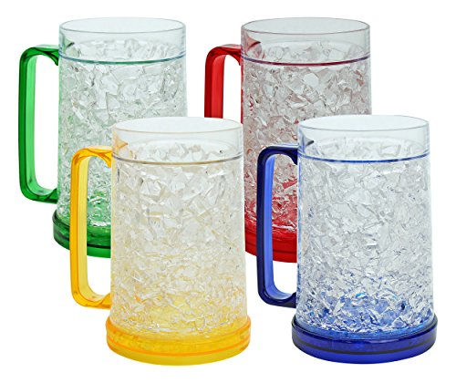 Buy beer mugs to freeze
