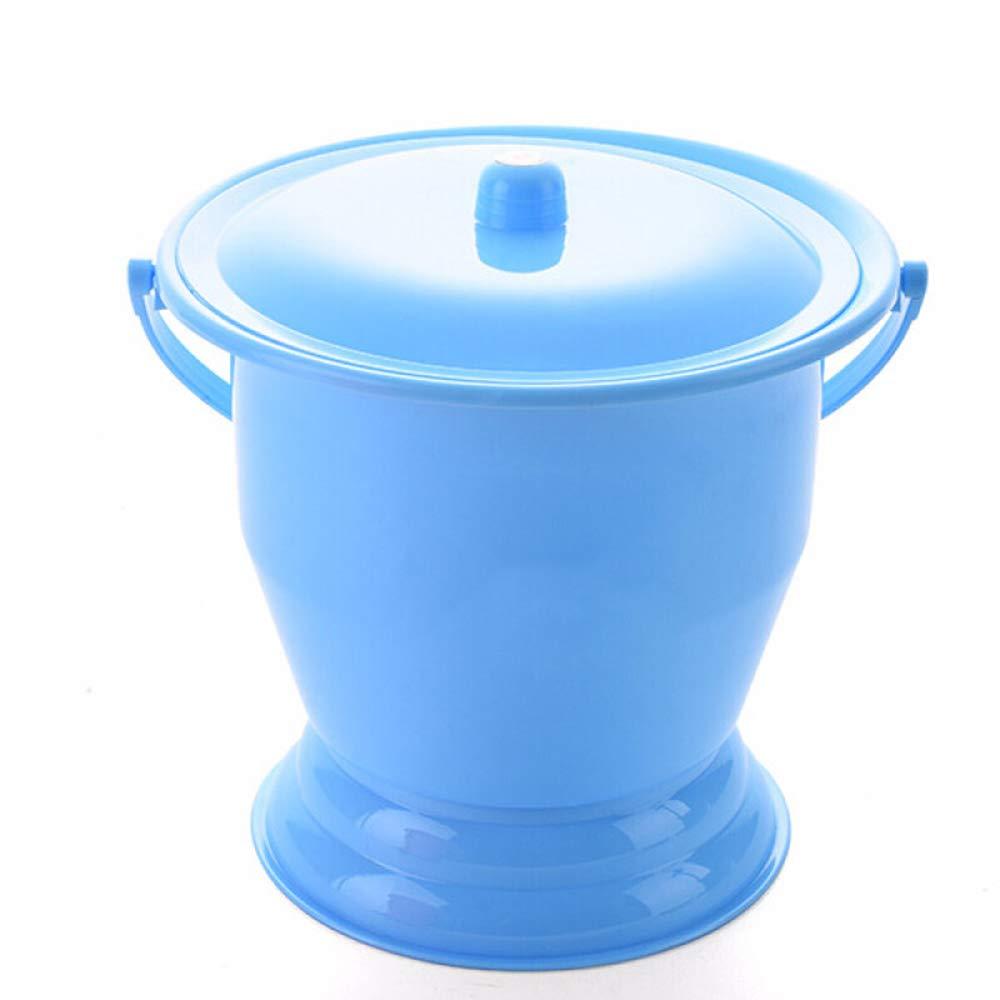 con Tapa Adulto Orinales para Beb/é,25 23.5Cm Ni/ños Inodoro,A Pl/ástico Grueso Inodoro Portatil TRD-Toilet Port/átil Orinal