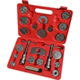 Cartman 21pc Professional Disc Brake Caliper Wind Back Tool Kit