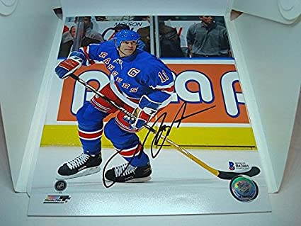 Image Unavailable. Image not available for. Color  Mark Messier Signed ... 519c5fdbe