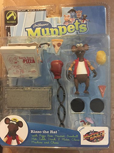 Palisades The Muppets Rizzo The Rat Action Figure Red Vest Variant Limited - Stores Palisades