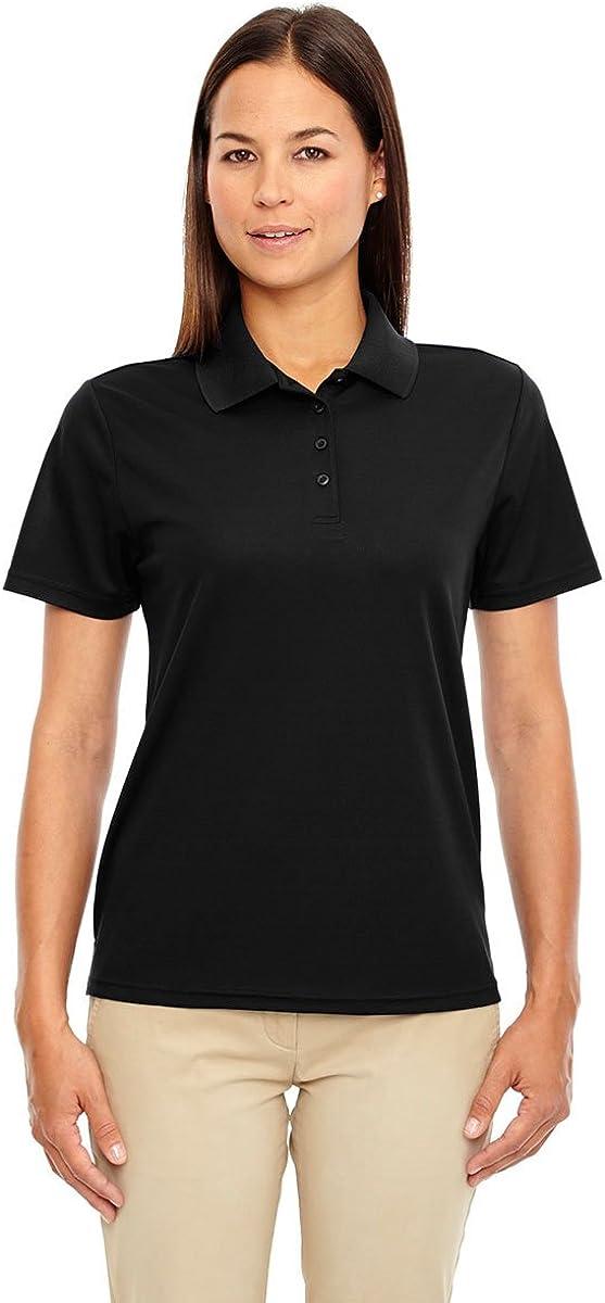 North End Womens Performance Pique Polo Shirt