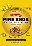 Pine Bros Cough Drops, Natural Honey, 32 Count (Pack of 72)