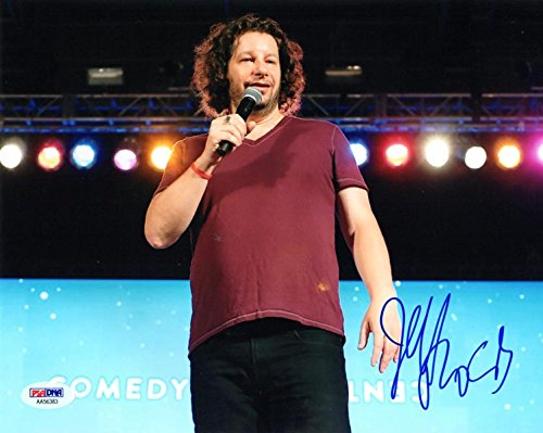 JEFF ROSS SIGNED AUTOGRAPHED 8x10 PHOTO CELEBRITY ROAST COMEDIAN PSA/DNA