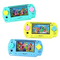 1x PSP Style Funny Water Console Ring Toss Puzzle Game Toy Gift Present Colorful for Kids Children Early Education (Color Randomly)