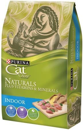 Purina Cat Chow Naturals Indoor Dry Cat Food 3.15 lb. Bag