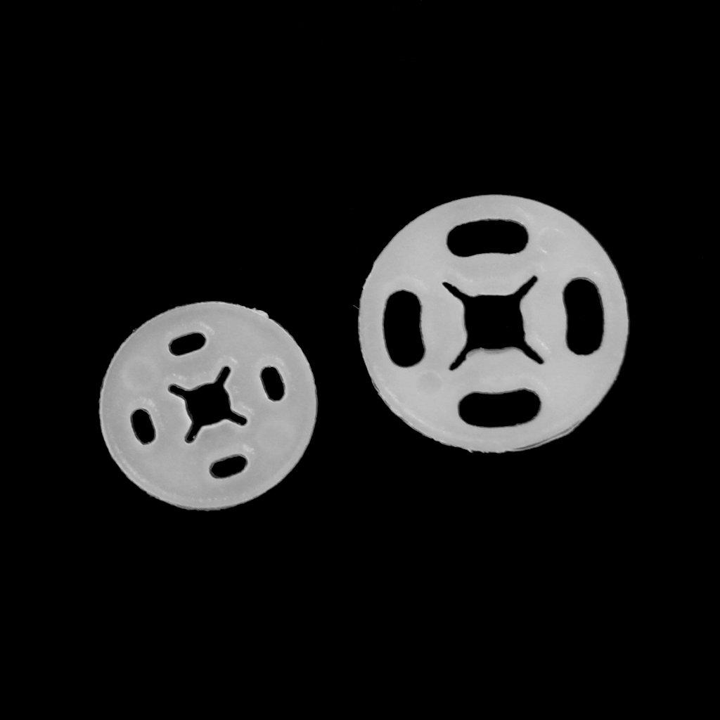 Sharplace Kunststoff N/ähen auf Snap Druckkn/öpfe Zum Ann/ähen Bekleidungsverschl/üsse