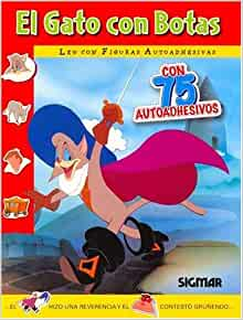EL GATO CON BOTAS (Leo Con Figuras Adhesivas) (Spanish
