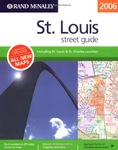 Rand McNally 2006 St. Louis Street Guide (Rand McNally Streetfinder) for $<!--$153.44-->