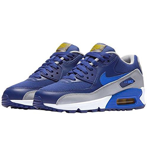 Nike Air Max 90 Mesh (GS) Zapatillas de Running, Niños blau