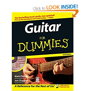 Guitar For Dummies Jon Chappell, Mark Phillips