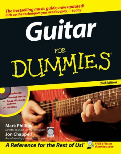 Guitar for dummies amazon mark phillips jon chappell books ccuart Choice Image