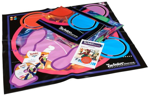 Amazon.com: Twister Dance DVD - Milton Bradley Interactive Games ...