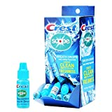 Crest Scope Breath Drops - Long Lasting PEPPERMINT - Gravity Feed Display - 50 count, 3.2mL Dr