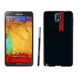 NEW Unique Custom Designed Samsung Galaxy Note 3 N900A N900V N900P N900T Phone Case With Red Bookmark Sign_Black Phone Case wangjiang maoyi