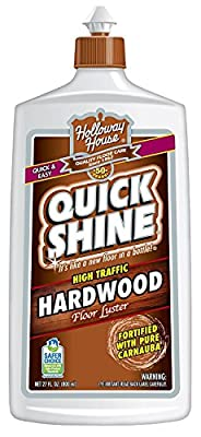 Quick Shine High Traffic Hardwood Floor Luster and Polish, 27 Fl. Oz