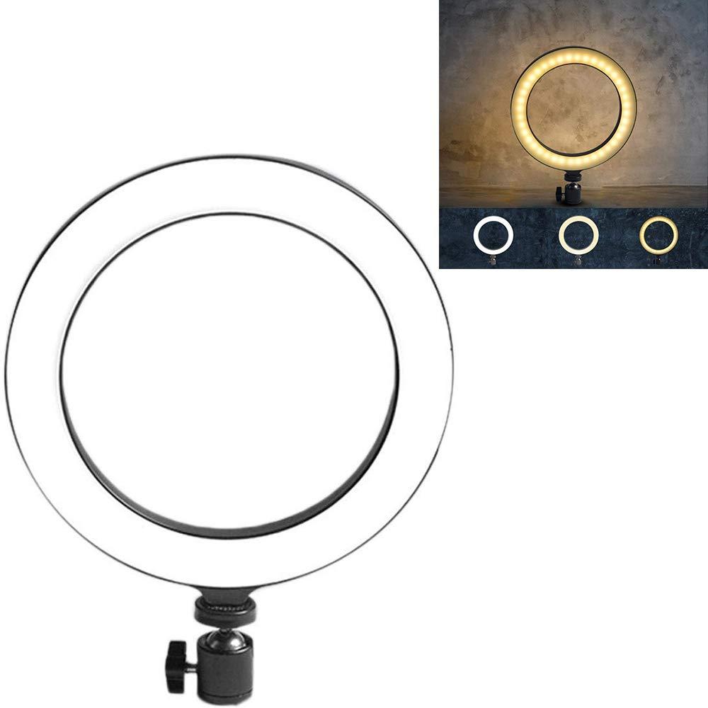 DREAMVAN Live Fill Light Mobile Phone Bracket LED Ring Shape Self-Timer Photography Macro & Ringlight Flashes by DREAMVAN