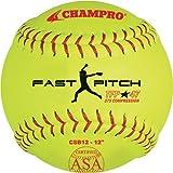 Champro 12'' ASA .47 COR Fastpitch Softball (Dozen)