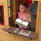 KidKraft Modern Outdoor Wooden Playhouse with