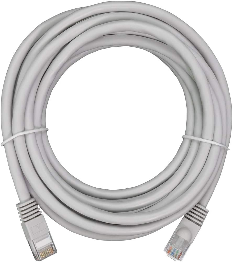NavePoint CAT5e UTP Ethernet Network RJ45 Snagless Patch Cable 2 Ft Gray